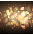 Shine abstract defocused background vector image