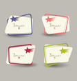speech bubbles icons in retro shades on vintage vector image