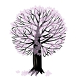 with a tree vector image