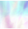 abstract blurred holographic background in light vector image vector image