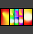 colorful gradient abstract background vector image vector image