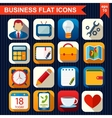 Flat icons for Web and Mobile App vector image vector image