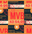 franceville airport tag seamless pattern vector image