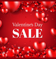 happy valentines day sale poster vector image vector image