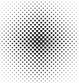 Monochrome heart pattern background design vector image vector image