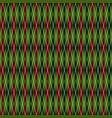 rhombus seamless christmas geometric pattern vector image