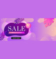 super sale web banner template for social media vector image
