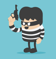 thief have a guns vector image