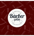 Barber Shop or Hairdresser background set with vector image