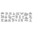 25 handwritten lettering positive quote vector image vector image