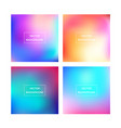 colorful gradient background vector image vector image