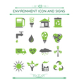 Environment and eco related symbols vector image
