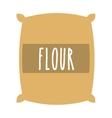 flour powder bag isolated icon design vector image
