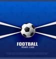 football premier league soccer championship vector image