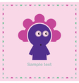 Funny character vector image vector image