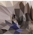 poligonal background vector image vector image