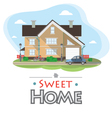 sweet home vector image vector image
