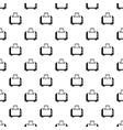 Toaster pattern simple style vector image