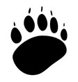 animals footprint icon vector image
