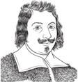 evangelista torricelli vector image