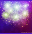 festive lilac background vector image