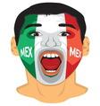 Go Go Mexico resize vector image vector image