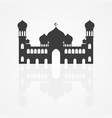 graphic a mosque vector image