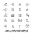 mechanical engineering mechanic electrical vector image