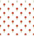 Rattle pattern cartoon style vector image vector image