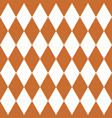 seamless diamond pattern vector image vector image