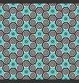 seamless pattern hand spinner fidget spinner vector image