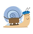 snail mail vector image