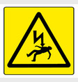 danger electricity vector image