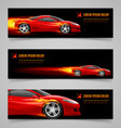 Flaming speed vector image vector image