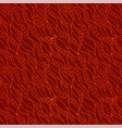 hot red seamless pattern with decorative fire vector image