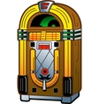 Vintage Jukebox vector image vector image