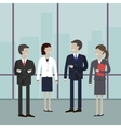 Business People Meeting vector image