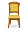 chair 02 vector image vector image