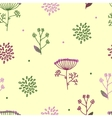 Elegance Seamless pattern with flowers Ukraine vector image vector image