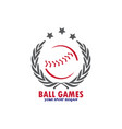 game ball vector image