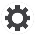 isolated web button vector image vector image