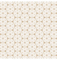 japanese gold background and pattern vector image