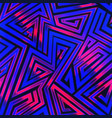 light neon stripes seamless pattern vector image
