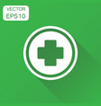 medical health icon business concept medicine vector image