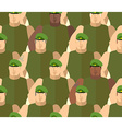 Soldiers in Green Berets Special forces Army vector image