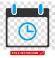 Time Calendar Day Eps Icon vector image vector image