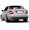 al 0610 car sedan vector image vector image