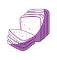bakery products design vector image vector image