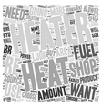 How to Choose a Shop Heater text background vector image vector image
