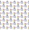 princess seamless pattern for girls design vector image vector image